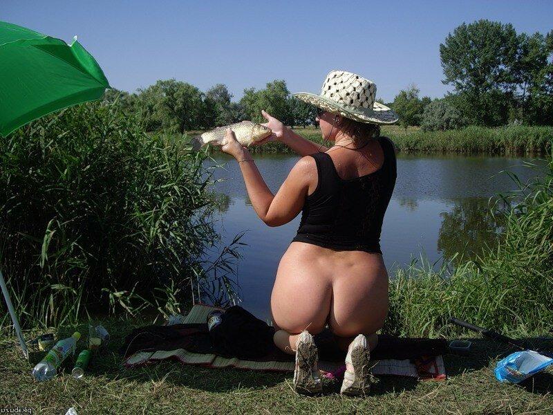 Девушку порно фото на рыбалке — img 12