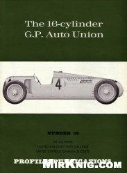 Книга The 16-Cylinder G.P. Auto Union