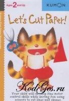 Книга Let's cut paper