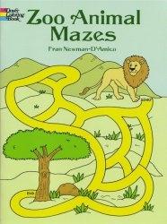 Книга Zoo Animal Mazes (Dover Coloring Book)