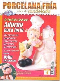 Журнал Porcelana fria. Curso de modelado №4 2008