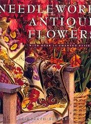 Книга Needlework Antique Flowers