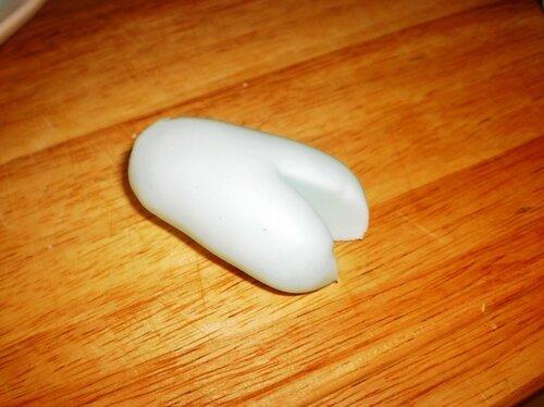 5 Как лепить снеговика из мастики своими руками