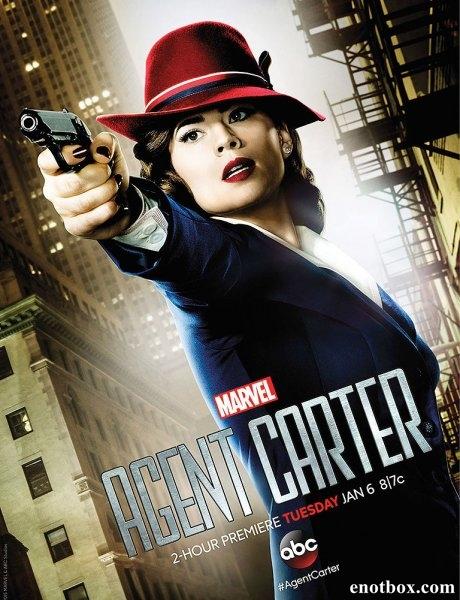 Агент Картер / Agent Carter - Полный 1 сезон [2015, WEB-DLRip | WEB-DL 1080p] (Невафильм | LostFilm)