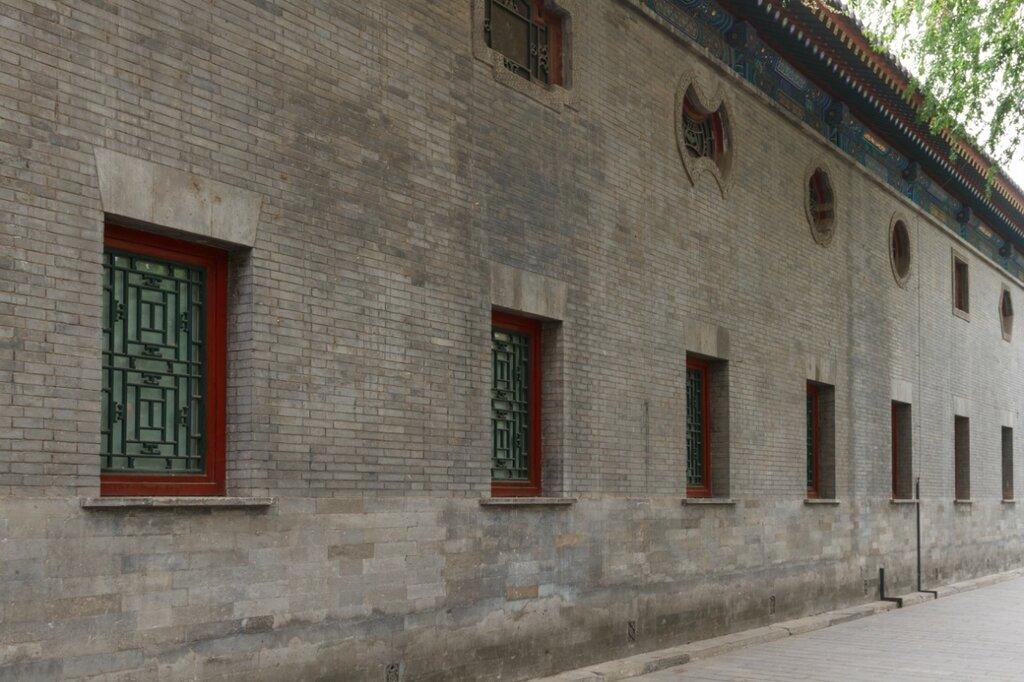 Стена дворца, резиденция князя Гуна, Гунванфу, Пекин