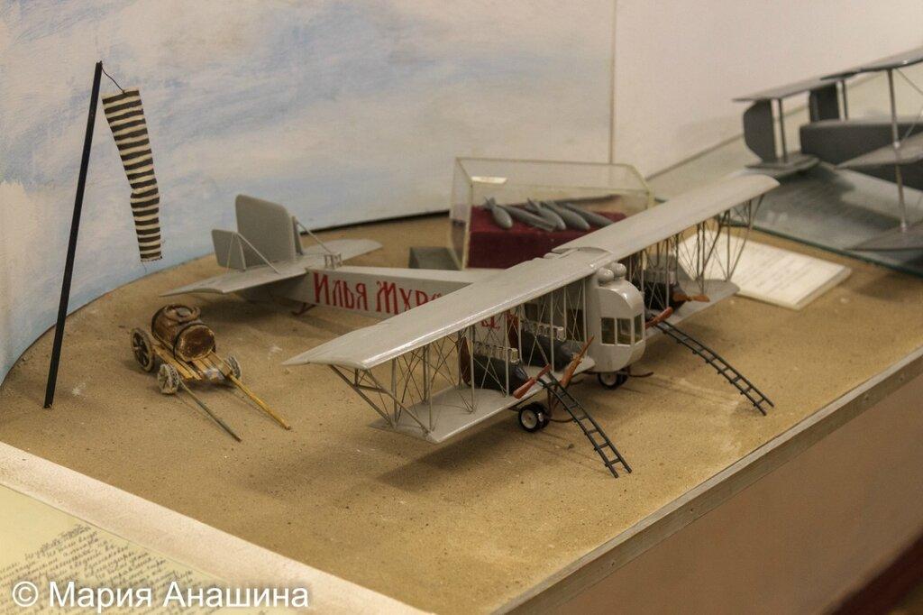 Модель самолета С-22 «Илья Муромец»