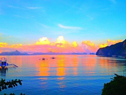 Яркое утро на Филиппинах