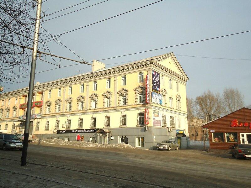 Прокопьевск. Здание на проспекте Шахтеров