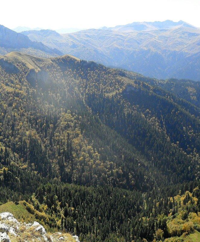 Кавказ, Адыгея, Большой Тхач, туризм, сентябрь 2012... SAM_3313 - копия.JPG