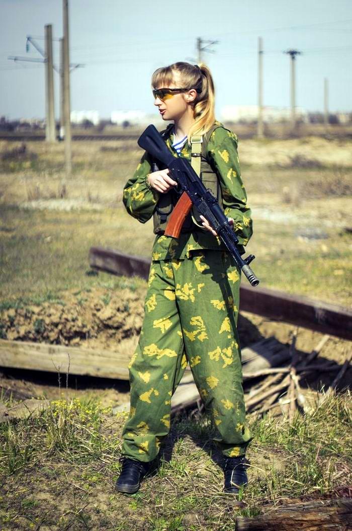 Боевые подруги: Фотосессия в стиле Military - лазертаг клуб - Отряд 61 - (Ростов-на-Дону) (19)