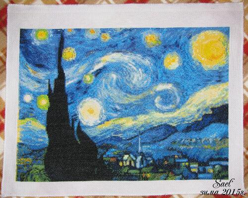 "Ван Гога ""Звездная ночь""."