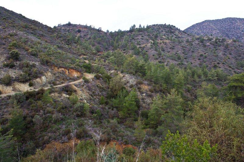 Кипр, горы