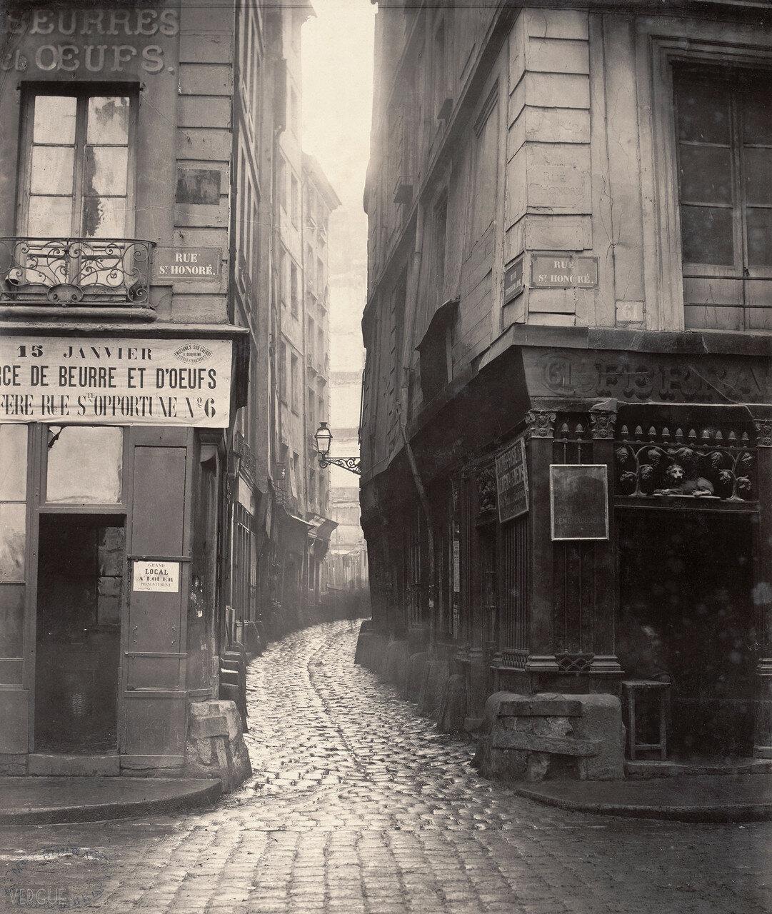 Рю Сент-Оноре. 1866