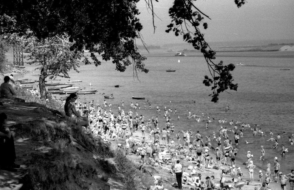 Пляж в Павловской роще