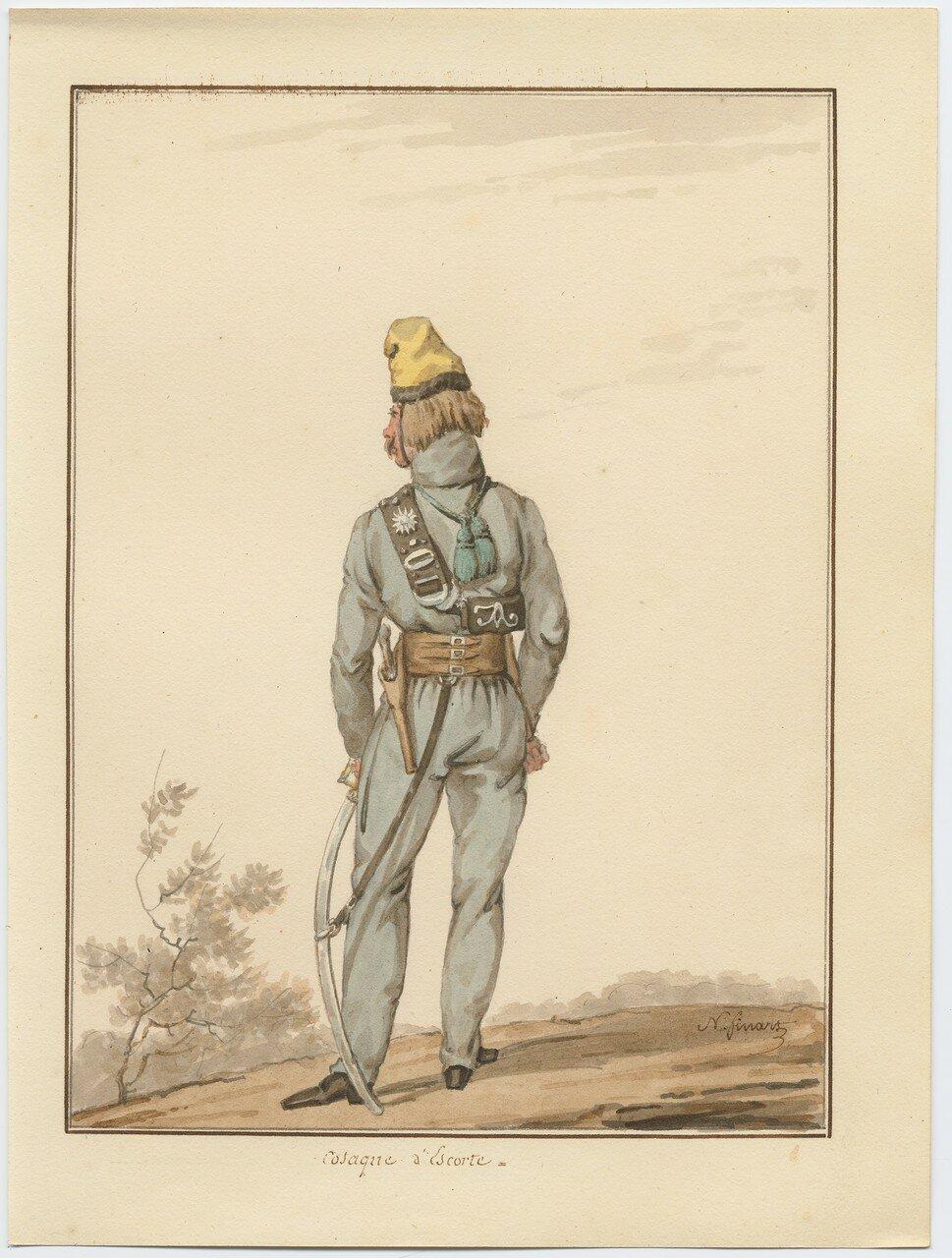 Казак экскорта 1815
