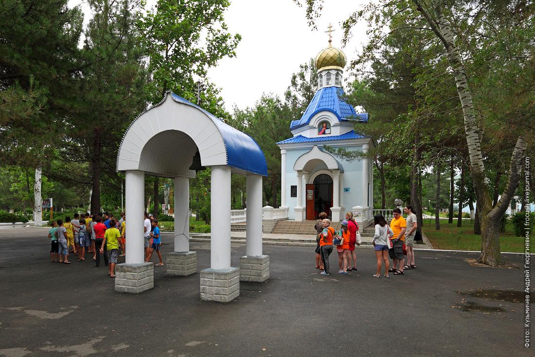 Жемчужина России часовня преподобного Серафима Саровского