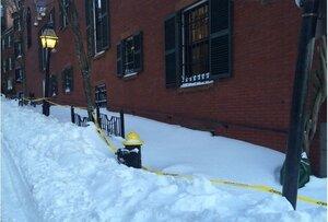 Джона Керри оштрафовали на $50 за снег рядом с его домом
