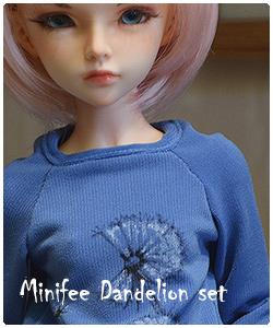 Minifee dandelion set