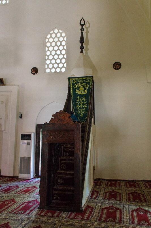 Мечеть Сулеймание в Аланийской крепости