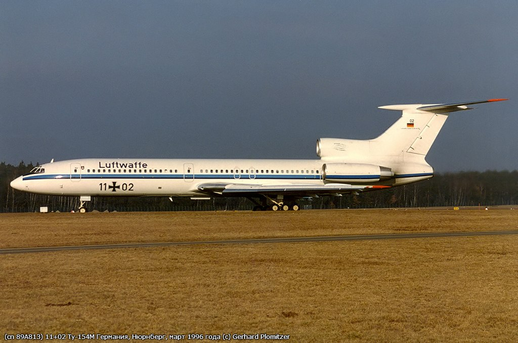 Ту-154 в Люфтваффе