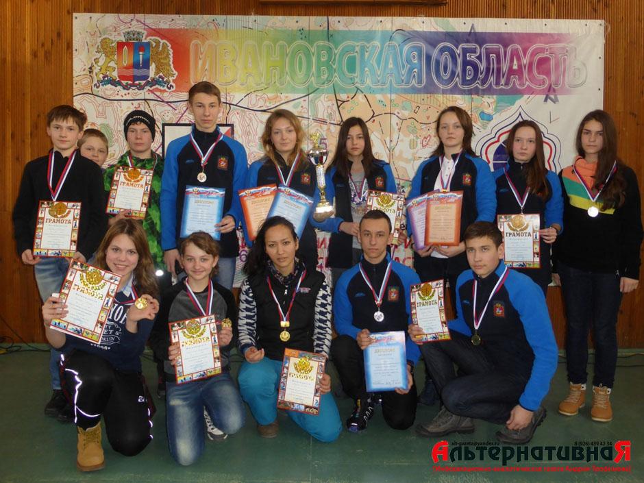 6 медалей завоевали спортсмены-ориентировщики