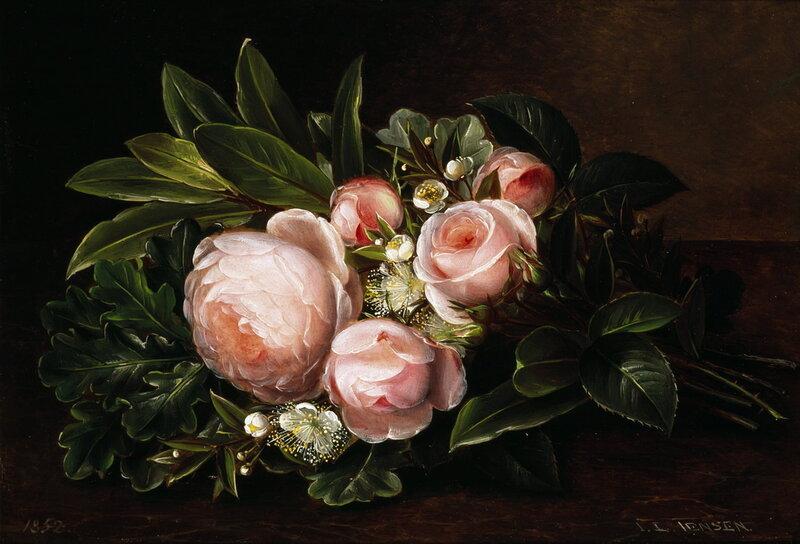 Johan Laurentz Jensen. Натюрморты