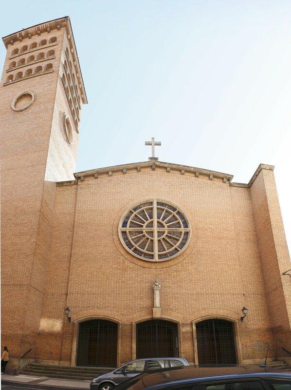 Logrono. Church of our lady Of Valvanera (Parroquia Nuestra Señora de Valvanera)