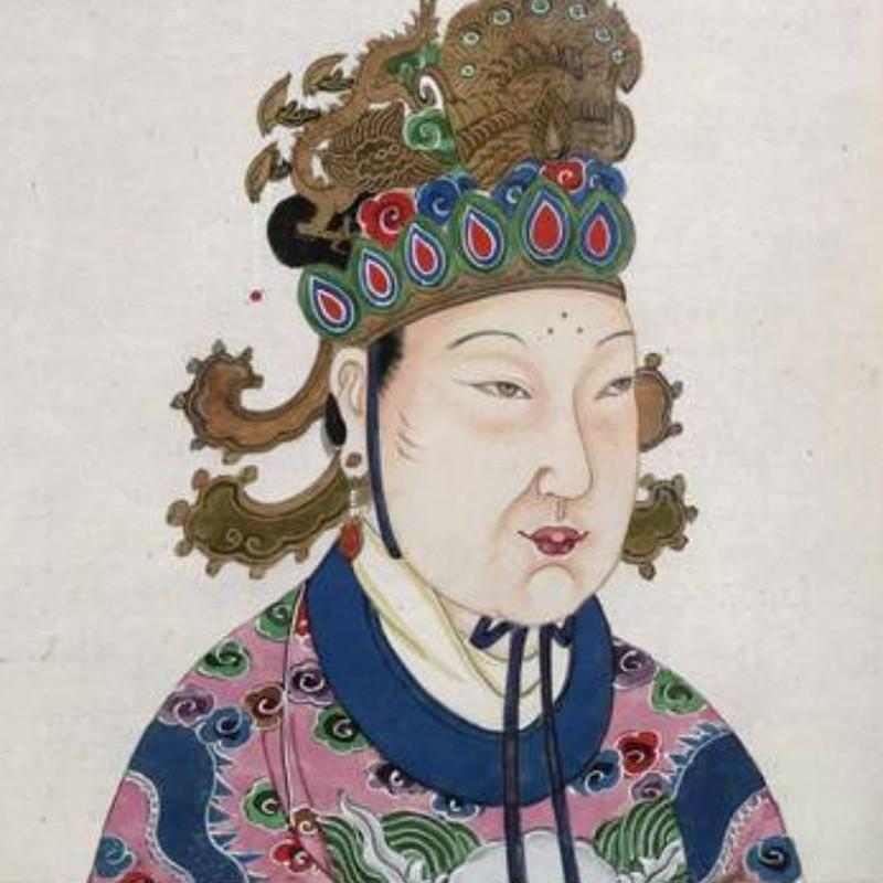 Правление: 690-705 гг. н.э. У Цзэтянь прошла путь от 14-летней младшей наложницы до императрицы Кита