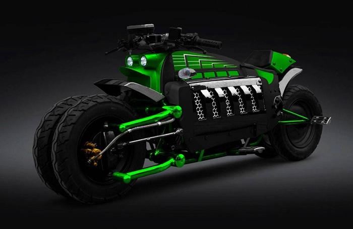 Первый мотоцикл стоимостью полмиллиона долларов создан американским производителем. Он был представл
