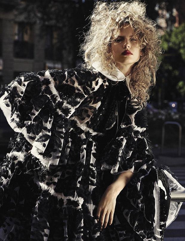 Элизабет Эрм (Elisabeth Erm) в журнале Vogue Ukraine