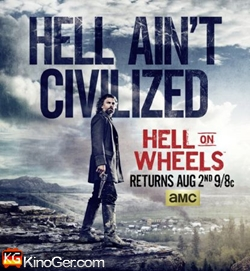 Hell on Wheels Staffel 1-5 (2014)