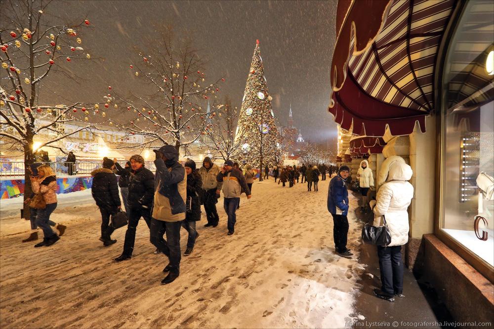 Предновогодняя Москва