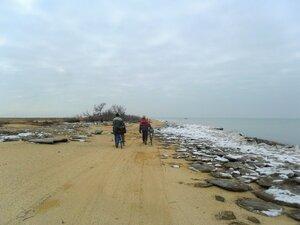 Январь, туризм, Азовское побережье, 2015 год