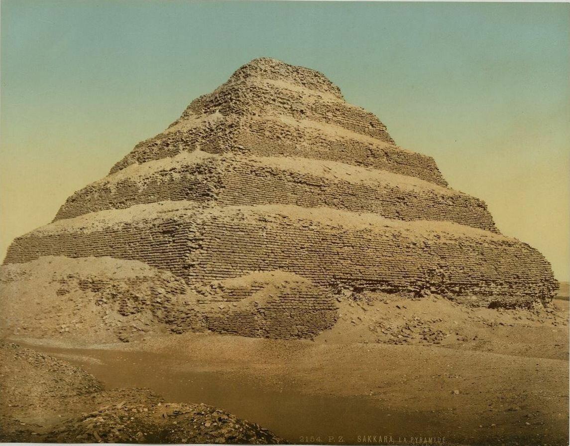Саккара. Пирамида