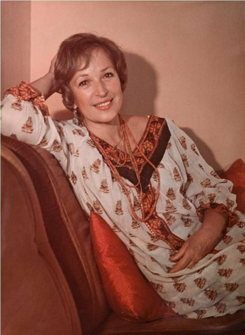 1986. Актриса Клара Лучко