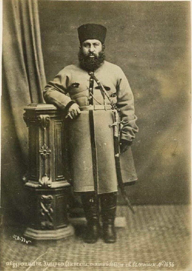 Самарканд. Абдур-Рахман, эмир афганский в изгнании
