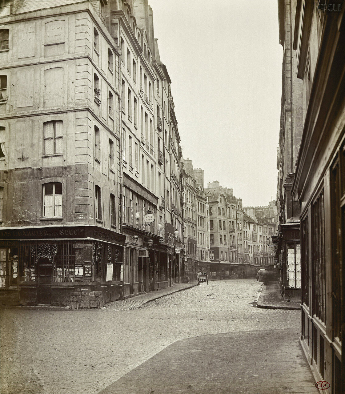 Рю до ля Феронри. 1865