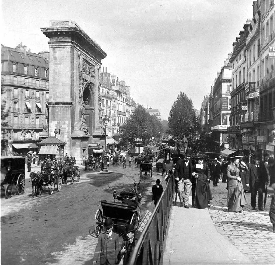 1900-е. Ворота Сен-Дени