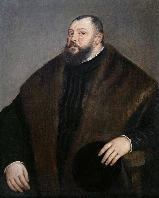 Johann Friedrich of Saxony, by Titian