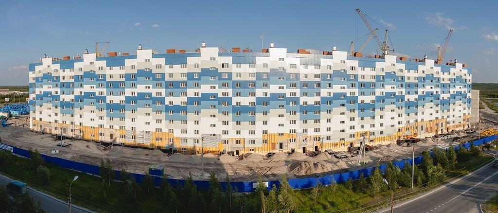 Город надым строительство микрорайона нового фото видео