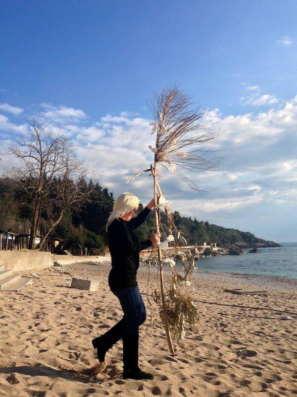 Масленница в Черногории на пляже Каменово