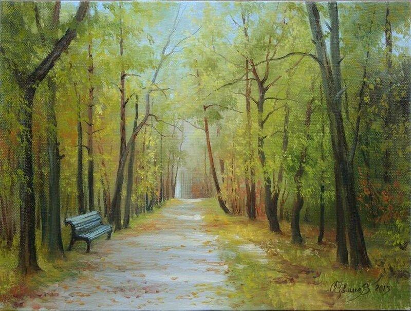 Белорусский художник Олег Чувашев. Нежные пейзажи и натюрморты 0 1110c4 5662ae08 XL