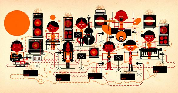 Студия образцово-показательного графического дизайна KHUAN+KTRON. Журнальная графика и инфографика