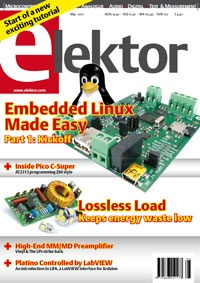 Журнал Журнал Elektor №5,2012(UK)