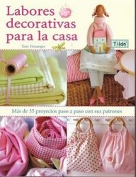 Книга Labores decorativas para la casa