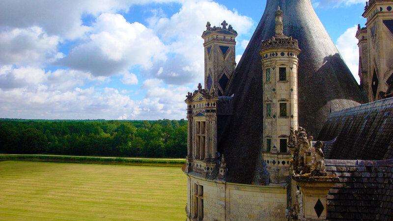 Замок Шамбор, Франция ( Chambord castle, France )