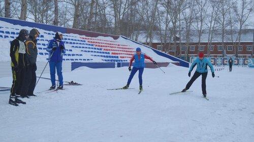 Лыжные гонки в Барабинске