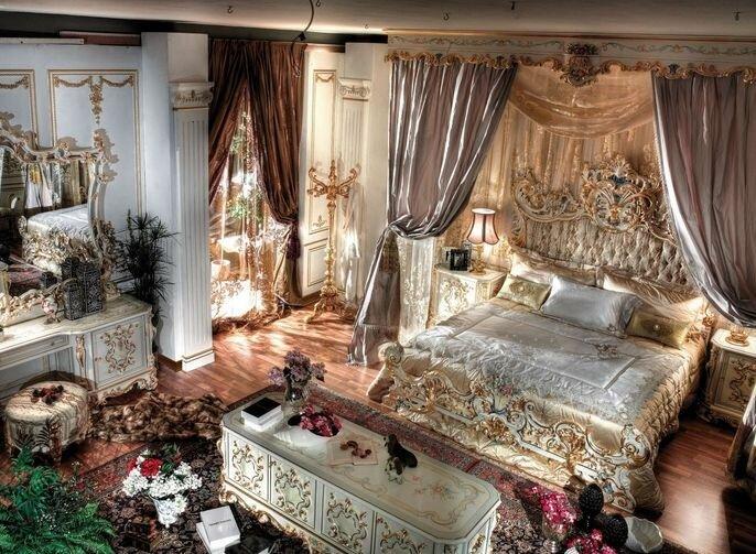Аристократическая спальня