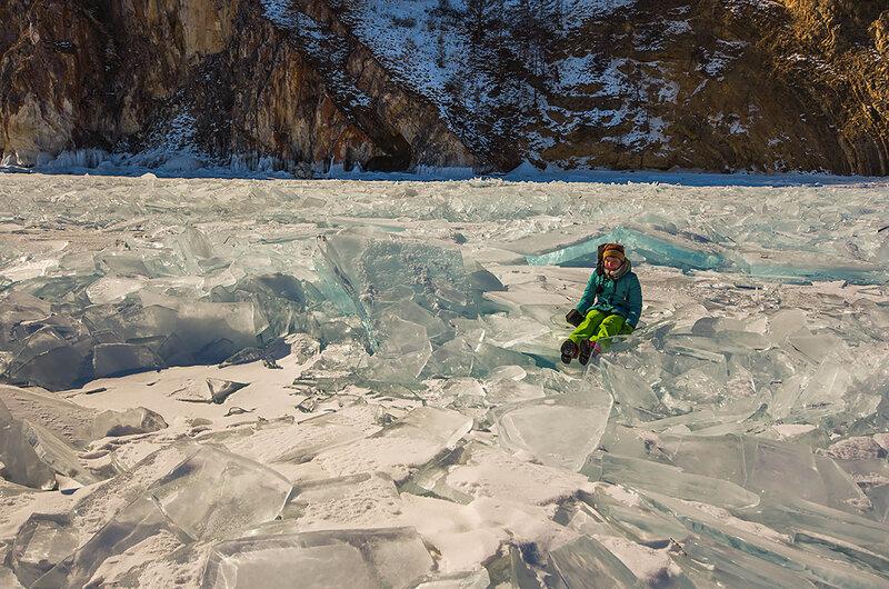 Ксения во льдах