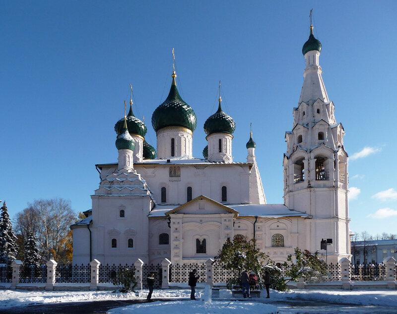 Ярославль, церковь Илии Пророка